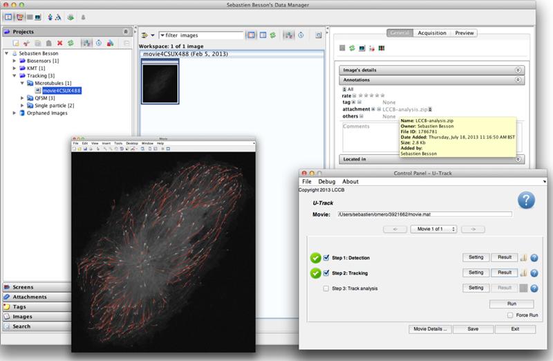 u-track screenshot